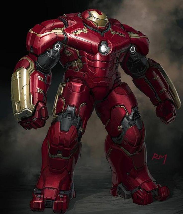 Vingadores: Era de Ultron - Revelados visuais alternativos do Visão, Hulkbuster e mais! - Legião dos Heróis