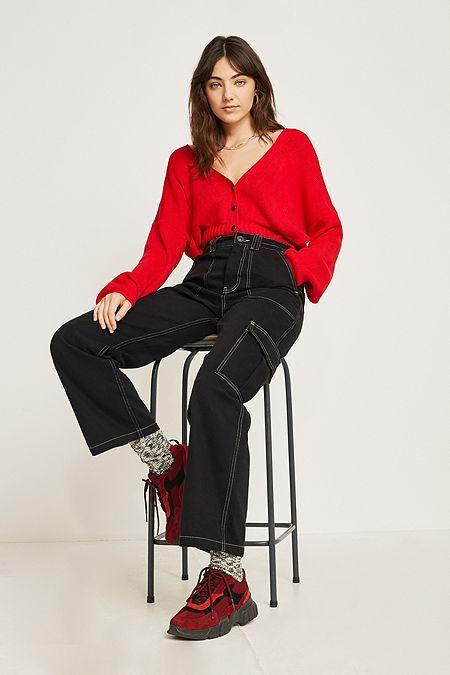 Bdg In Contrast 2019 Black Jeans Stitch Skate TrousersBirthday vO8n0Nwm