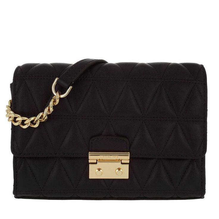 Michael Kors Michael Kors Tasche – Ruby MD Clutch Black – in schwarz – Umhängetasche für Damen
