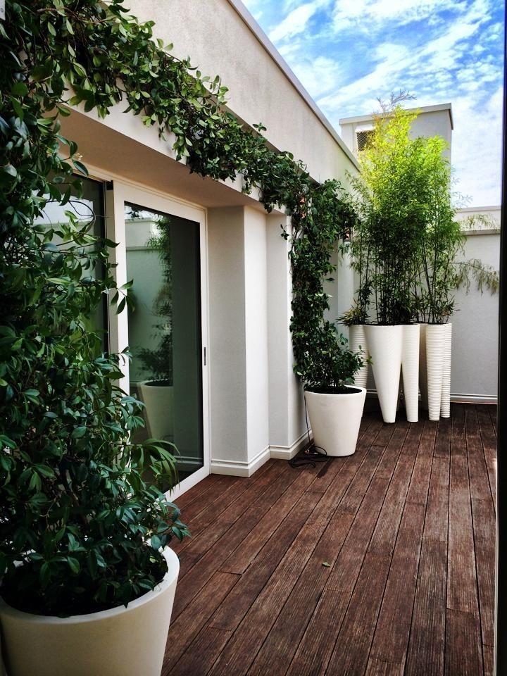 Un bel terrazzo piantumato per non rinunciare al verde