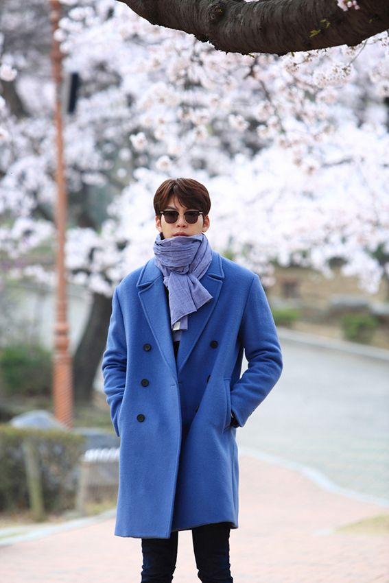 Kim Woo Bin. Blue is my color.                                                                                                                                                                                 More