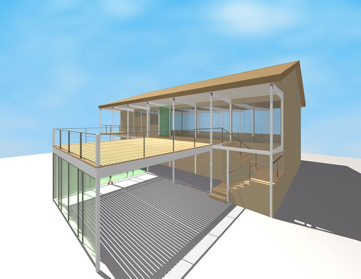 15 best deck over carport see also houzz images on for Garage under deck