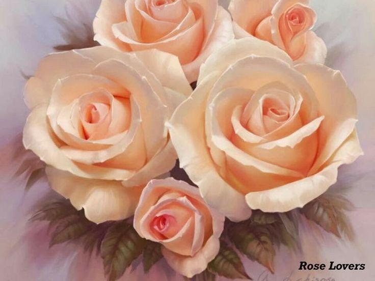 77 besten Anna Lakisova Bilder auf Pinterest Stoffmalerei, Anna - rose aus stein deko