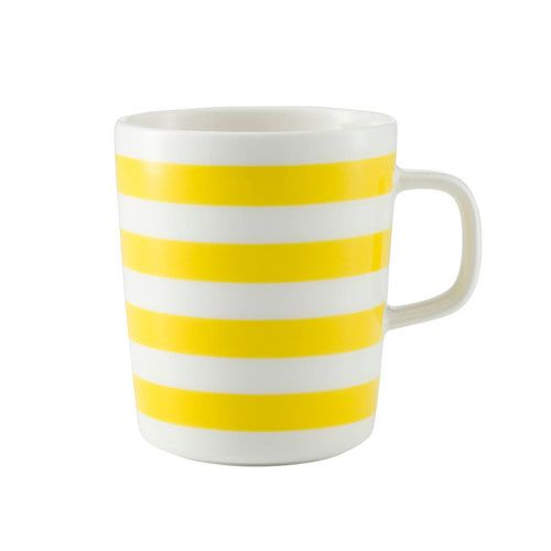 Marimekko Yellow Tasaraita Mug $22.00
