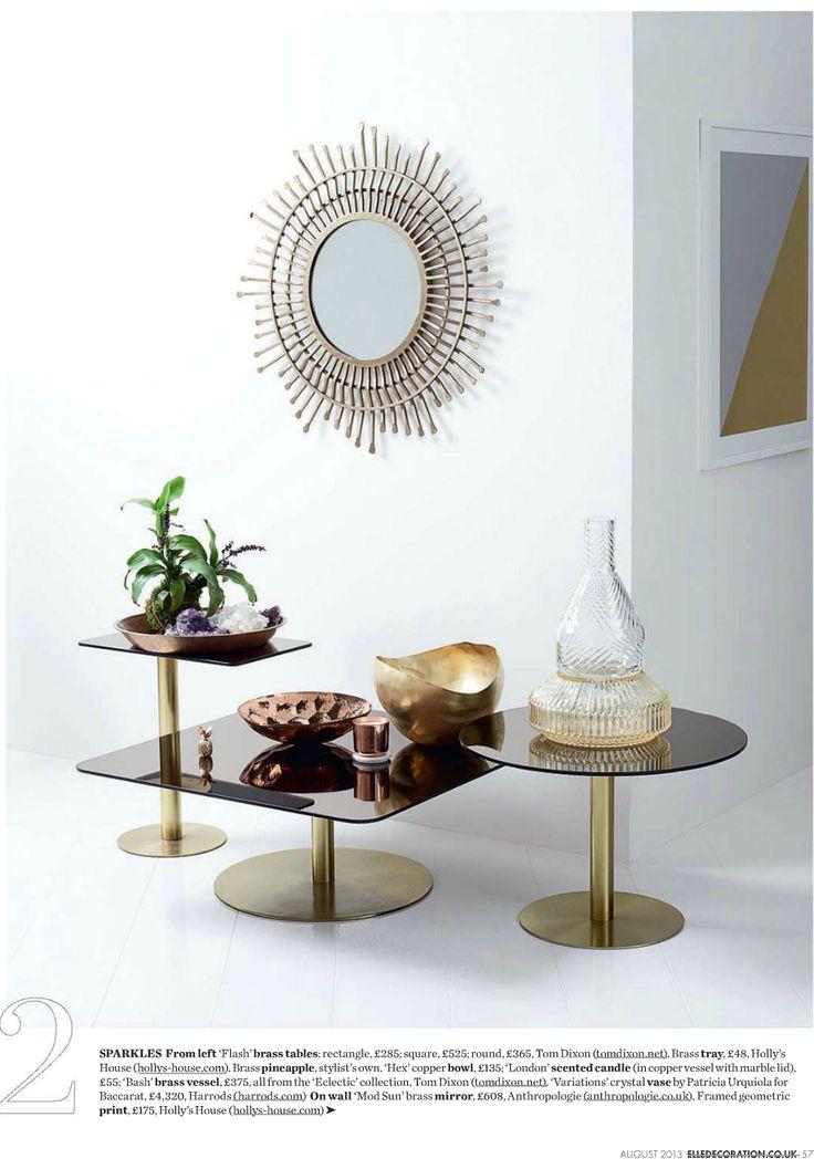 Home I Interior I Furniture I Eating I Flash Sqaure Tables by Tom Dixon