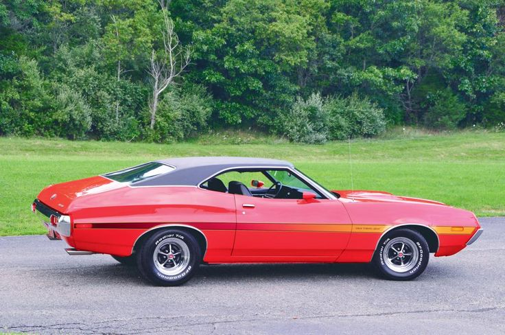 Ford's Gran Torino Sport was offered as a two-door hardtop and the slick looking two-door SportsRoof. Description from autotraderclassics.com. I searched for this on bing.com/images