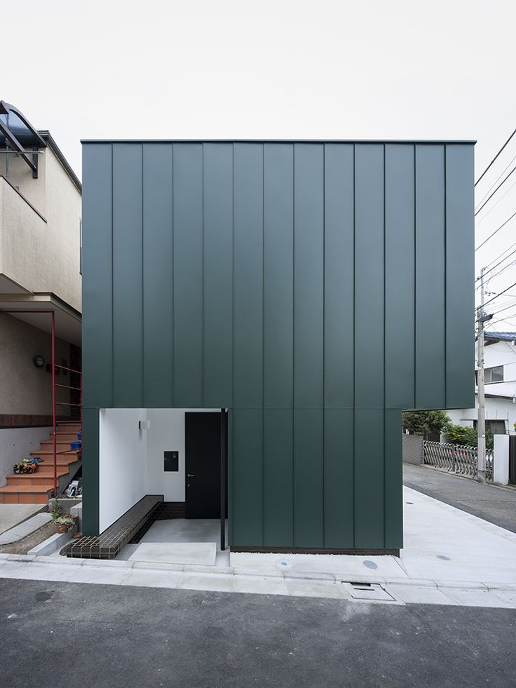 Compact House Compact Two Story House Keeping The Noise Away in Tokyo, Japan