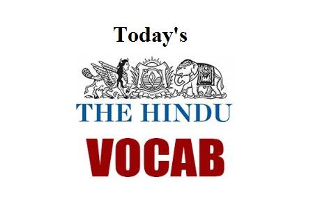 The Hindu (Vocabulary) - 26th October 2017   1. ABASE (NOUN): disgrace  Antonyms: laud praise  Synonyms: dishonour degradation  Example Sentence:  The demotion did not abase his credibility with his peers.  ----------- X -----------   2. PLAUSIBLE (ADJECTIVE): believable  Synonyms: probable credible  Antonyms: impossible improbable  Example Sentence:  She stammered and I realized that she had no plausible plan.  ----------- X -----------   3. BLATANT (ADJECTIVE): obvious  Synonyms: glaring…