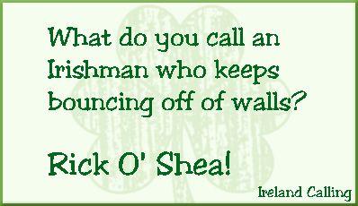 The best genuine Irish joke I know