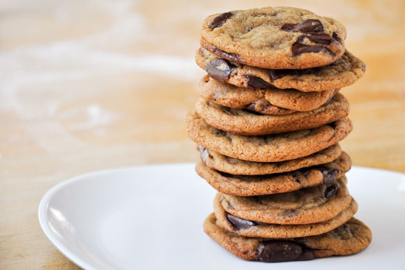 chewy molasses chocolate chip cookies | Yummy | Pinterest