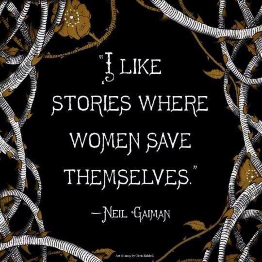 *sigh* Yes Neil Gaiman; I completely agree!