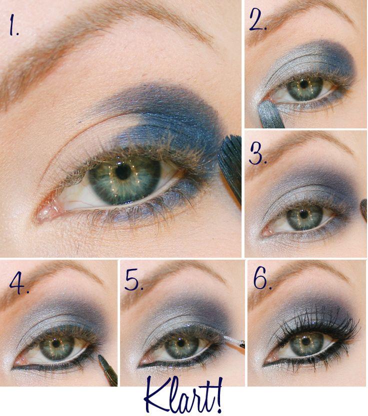 sminkning bruna ögon tutorial