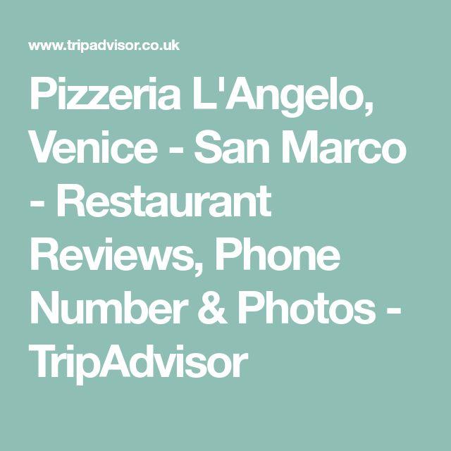 Pizzeria L'Angelo, Venice - San Marco - Restaurant Reviews, Phone Number & Photos - TripAdvisor