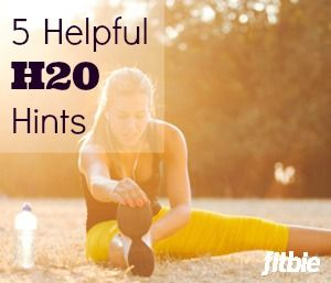 How much water should you drink? What are the signs of dehydration? Stay safe this summer with our expert H20 tips.  | Fitbie.com