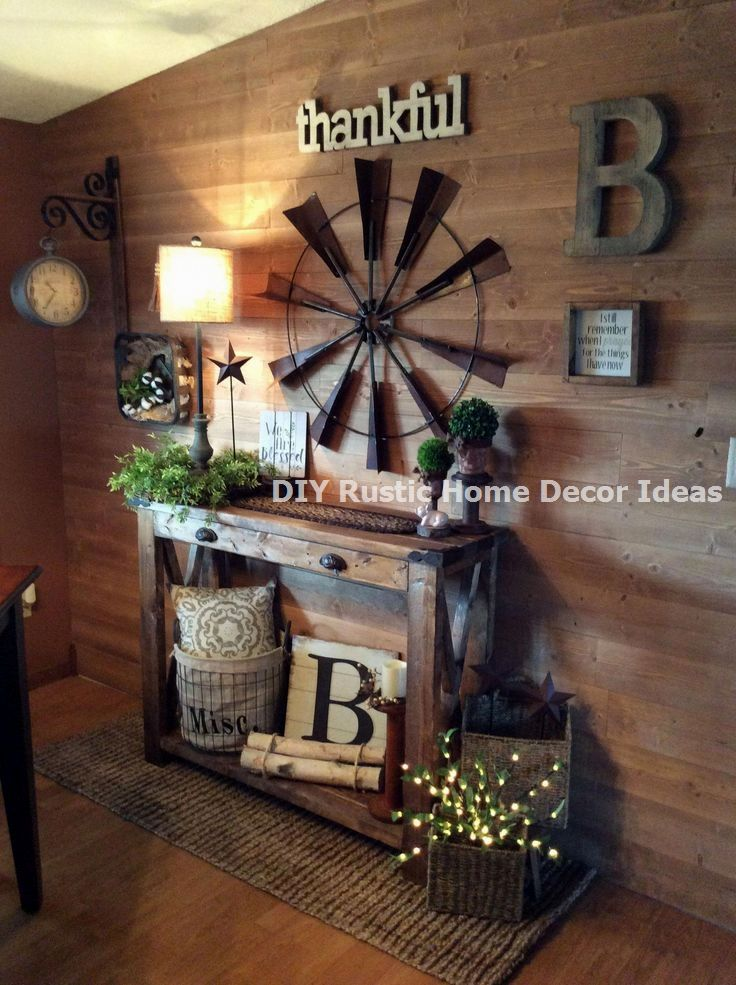 15 Diy Rustic Decoration To Help Upgrade Your Home Rustic Rusticdecoration In 2020 Rustic Farmhouse Decor Decor Diy Farmhouse Decor