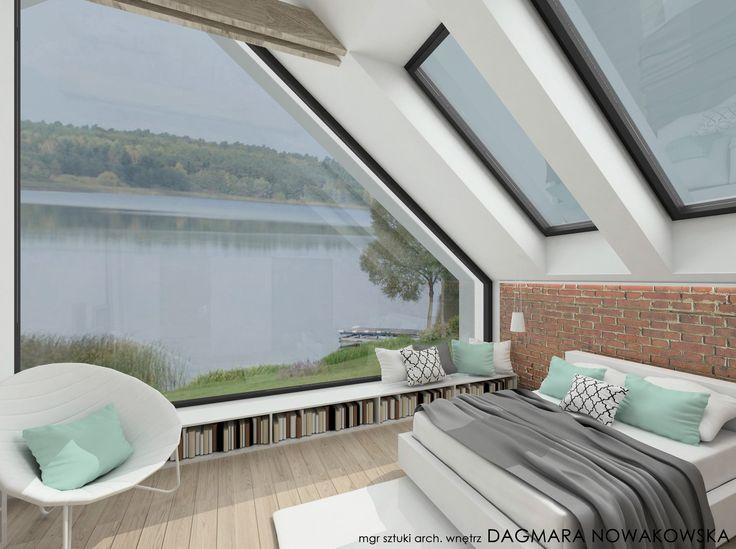 KONCEPT / adaptacja STODOŁY na budynek mieszkalny – nowoczesna STODOŁA | wnętrza & DESIGN | projekty DOMÓW | dom STODOŁA