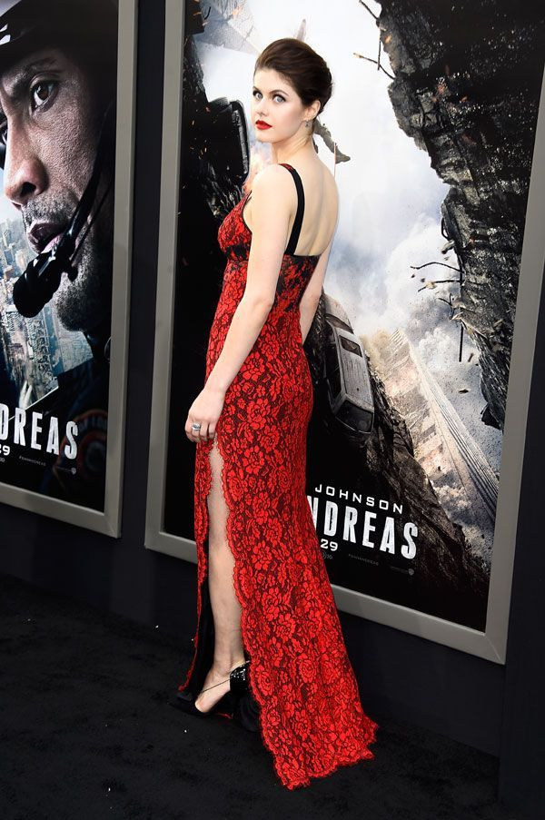 Alexandra Daddario — 'True Detective' Pics