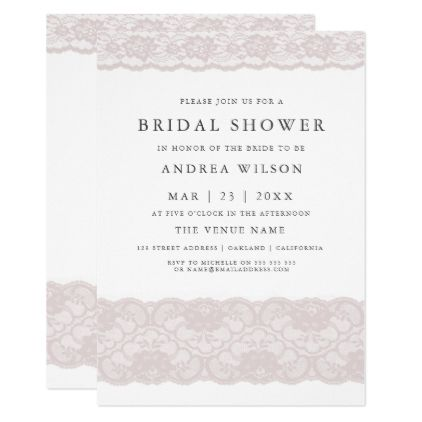 157 best Bridal Shower images on Pinterest Burgundy, Watercolors - best of invitation party card