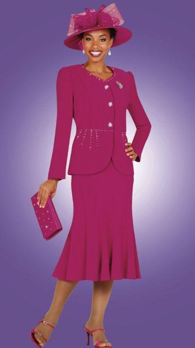 ebony ladies dress suits | ... Sunday Exclusive by BenMarc Ladies Designer Dress Suit 52512 image