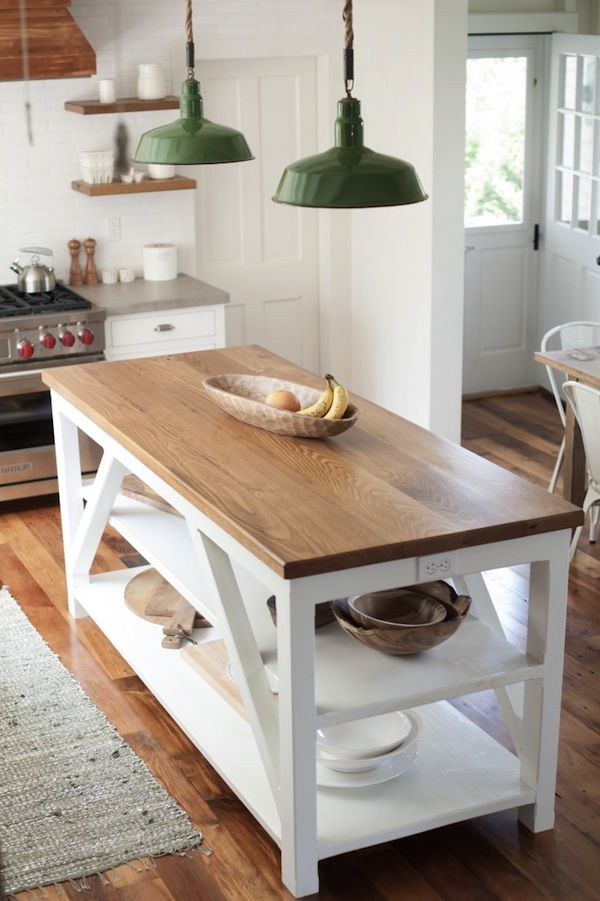 1000 ideas about Farmhouse Kitchen Island on Pinterest
