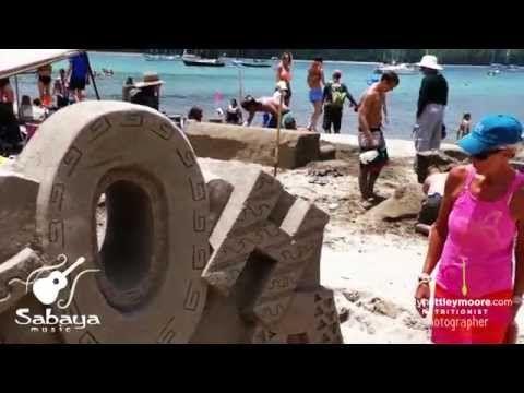 Hanalei Bay Kauai ~ Sandcastles