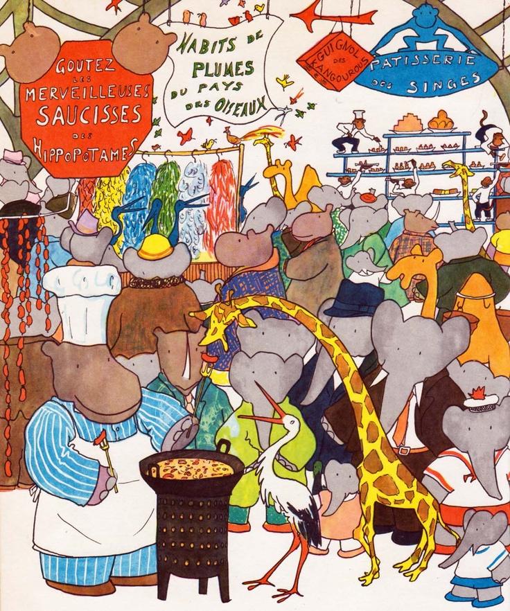 Babar's Fair by Jean de Brunhoff