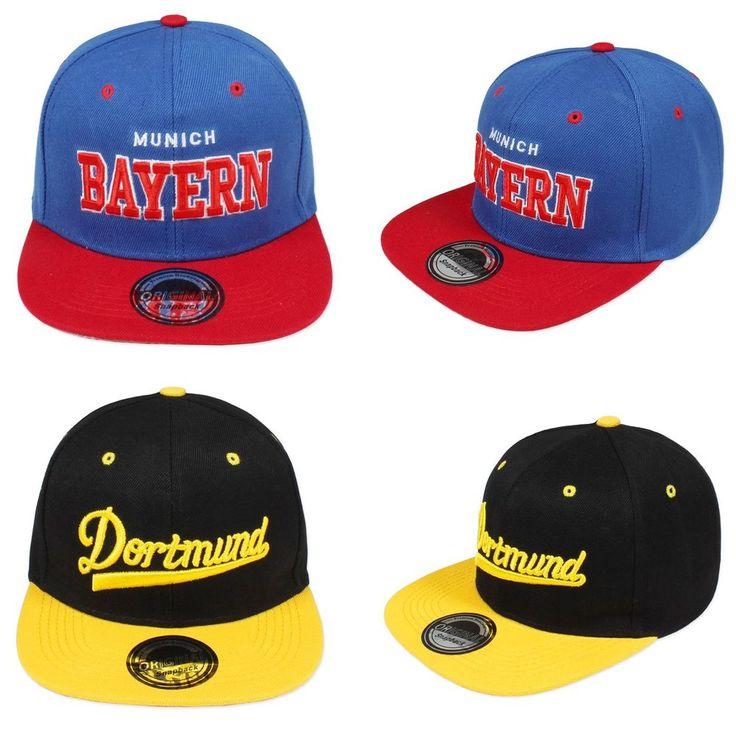 Original Snapback Cap Stadt City Bayern Dortmund Unisex Damen Herren