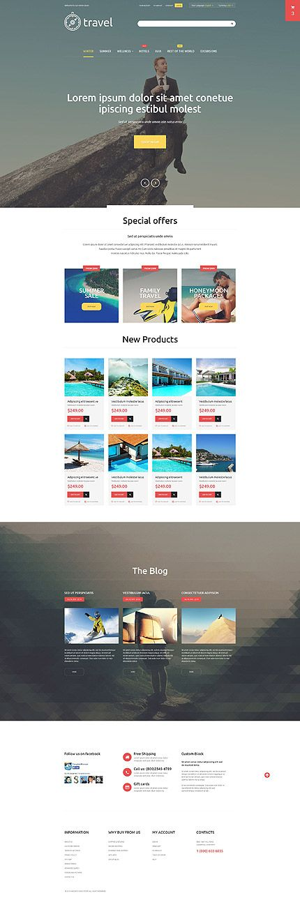 541 best images about Webdesign – Timeline Website Template