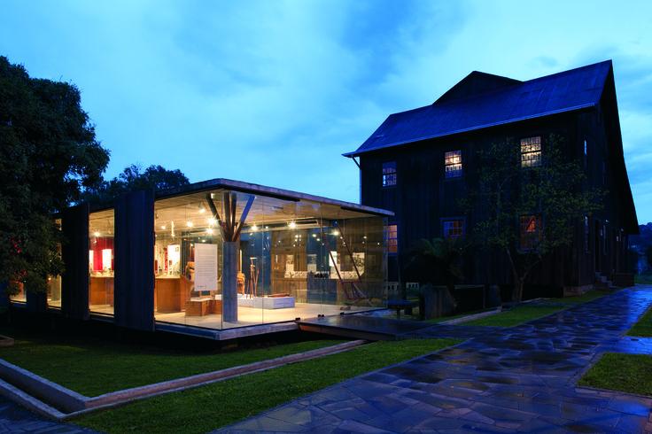 Museu do Pão. Ilópolis, RS, Brasil. Projeto: Escritório 'Brasil Arquitetura'. http://www.archdaily.com.br/br/01-8579/museu-do-pao-moinho-colognese-brasil-arquitetura