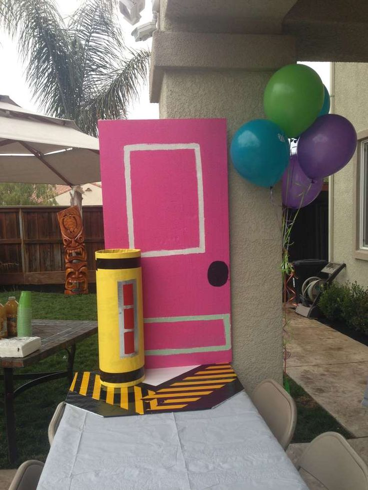 Monster inc Birthday Party Ideas | Photo 28 of 43 | Catch My Party