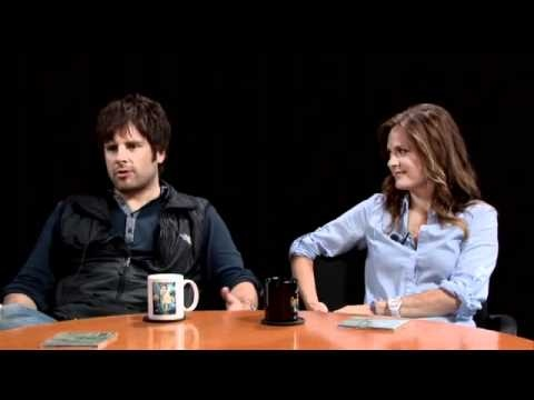 James Roday and Maggie Lawson  on Kevin Pollak's chat show (May 2011). It was their first interview as a couple.