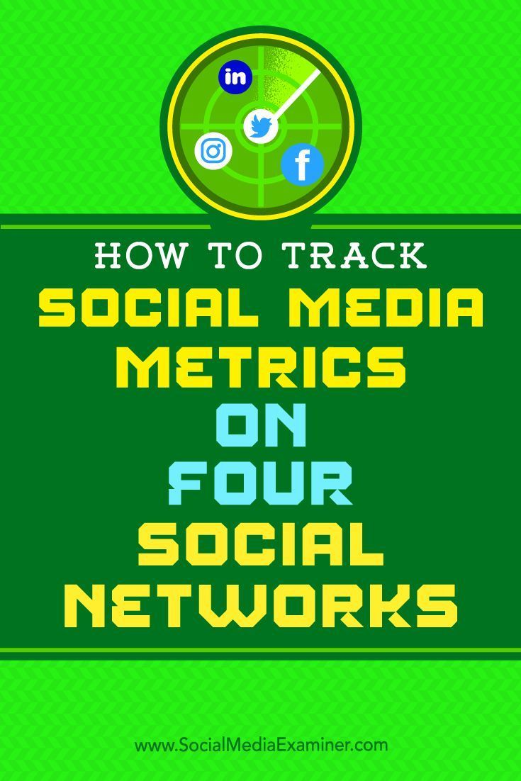 Are your social media marketing efforts working?  In addition to revenue, there is real value in knowing how many people engage with your social media posts.  In this article, youll discover which KPIs to track for Twitter, Facebook, LinkedIn, and Instag
