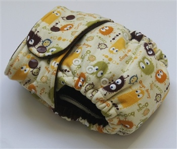 OS Fitted diaper made by My Diaper Addiction