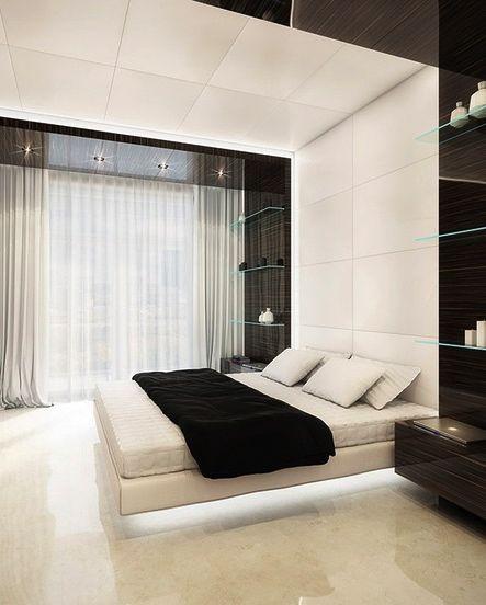 Interior .. Ultra modern bedroom