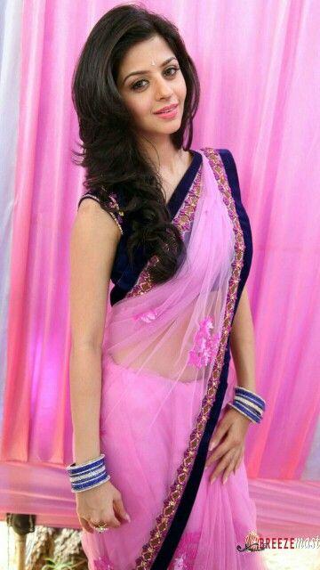 Pink saree...........