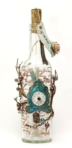 Tutorial on how to make this beautiful 'Message in a Bottle'..