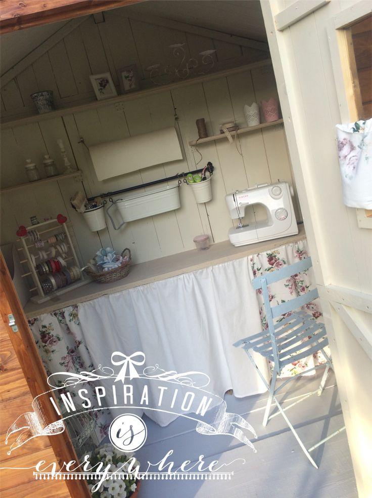 Garden house - my craft room
