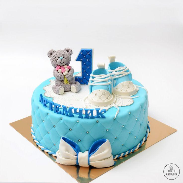 На годик торт №1102 на заказ в Москве
