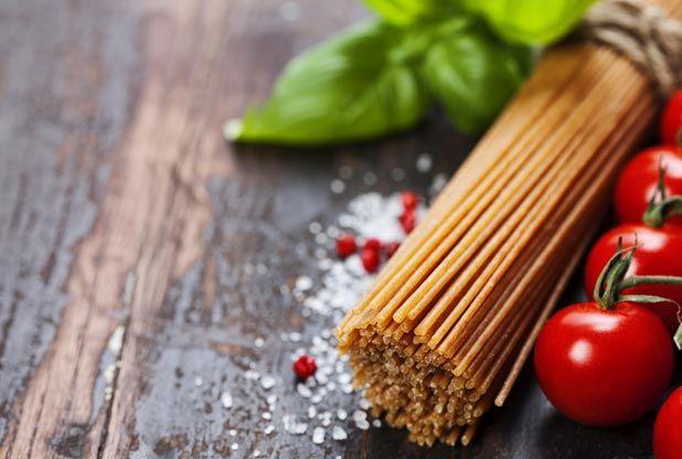 Spaghetti ai pomodori arrostiti