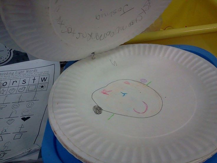 """A tip from my newest blog post, """"The Mathematics of Calendar Time"""" on ktothecore.com.  Choose a daily helper-On the first day of school, each child draws her face on a paper plate and writes her name on the back. I put them on a ring and flip the top plate each day. I have weekly helpers as well, but my """"Paper Plate Person"""" is my go-to person for the day. She fills in for the weekly helpers, delivers messages and attendance, and controls calendar time. It's a coveted position!"""