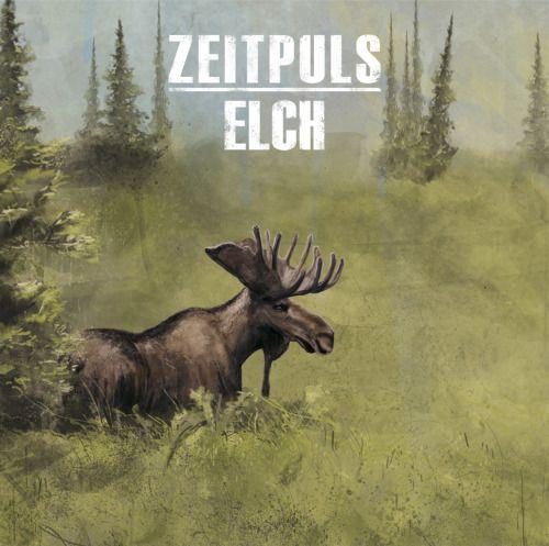 Zeitpuls - Elch CD Album Cover Artwork digital Illustration 2012
