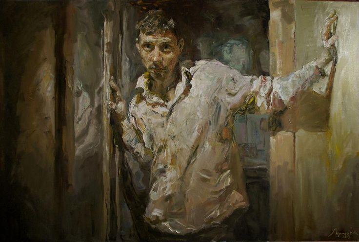 Kostya Lupanov - oil on canvas, 94х145  https://www.facebook.com/pages/Art-Traffik/284808378258927?ref=tn_tnmn: Art Vista, Oil On Canvas, Kostya Lupamov, Posts, Arte Vista, Artists Kostya, Konstantin Lupanov, Art Dudes, Kostya Lupanov