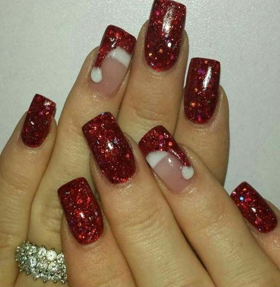my nails done like this for  party