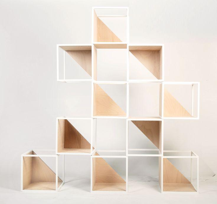 N modular bookcase