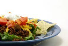 Мексиканский салат Тако - Салаты с птицей