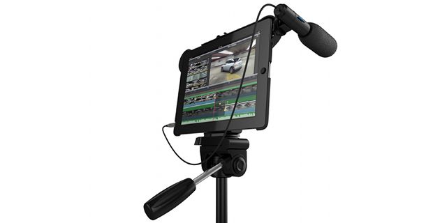 Movie Mount macht das iPad zur Profi-Filmkamera
