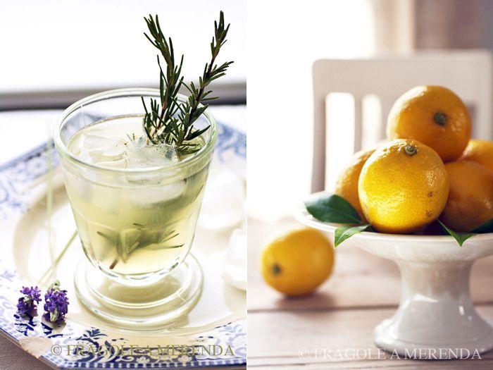 Limonata al miele lavanda e rosmarino
