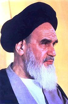 Ruhollah Mostafavi Moosavi Khomeini (24 September 1902 – 3 June 1989), was an Iranian religious leader and politician, and leader of the 1979 Iranian Revolution which saw the overthrow of Mohammad Reza Pahlavi, the Shah of Iran. Following the revolution, Khomeini became the country's Supreme Leader, a position created in the constitution as the highest ranking political and religious authority of the nation, which he held until his death.