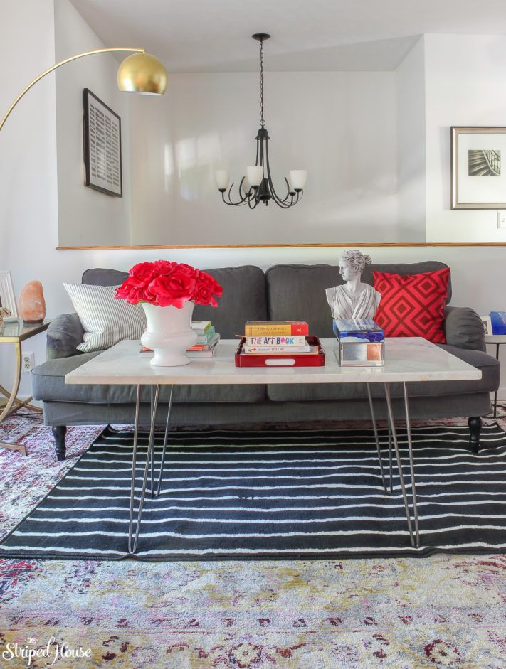 LIVING ROOM MAKEOVER FINAL REVEAL AND SOURCE LIST