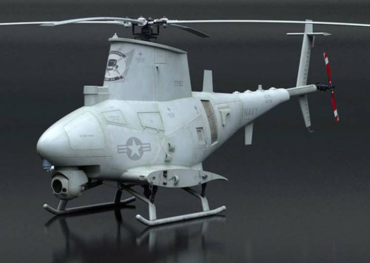 Digital art of MQ-8B model kit. 3D designed, painted and weathered by Marcin Ciepierski